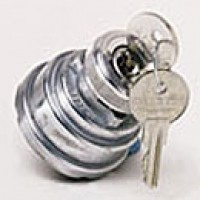 4-POSITION:ACC-OFF-IGN/ACC-IGN/START, 4 BLADES, CODED, SHUTTER LOCK SEAL