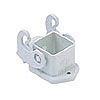 PANEL MOUNTING BASE  STRAIGHT - 3 or 4P+Ground  10A MAX - 250V  SINGLE LEVER  INSULATING TYPE  WHITE (CK03I)