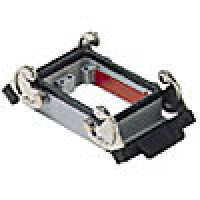 PANEL MOUNTING BASE - 32P+Ground  10A MAX - 600V  DOUBLE LEVERS (CHI50)