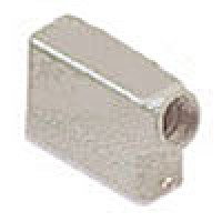"""HOOD - 16P+Ground, 10A MAX - 600V, TWO PEGS, SIDE ENTRY, CABLE GLAND NPT 1/2"""""""