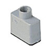 HOOD - 10P+Ground  10A MAX - 600V  TWO PEG  TOP ENTRY  CABLE GLAND PG 13.5 (CZV15L)
