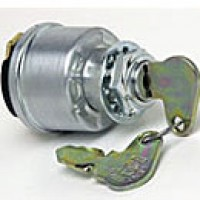 4-POSITION:ACC-OFF-IGN/ACC-IGN/START, 4 SCREWS, HENCOL S, O-RING SEAL IN STEM, PLATED STEEL