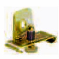 END STOP FOR 35X15MM DIN RAIL, STEEL