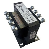SINGLE-PHASE CONTROL TRANSFORMER, OPEN, SCREW TERMINALS, 100VA, 277 - 120/240 (60Hz)
