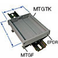 DIN RAIL MOUNT END SECTION/PLATE