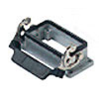 PANEL MOUNTING BASE - 10P+Ground  16A MAX - 600V  SINGLE LEVER (ILME CHI10L)