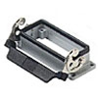 PANEL MOUNTING BASE - 16P+Ground  16A MAX - 600V  SINGLE LEVER (ILME CHI16L)