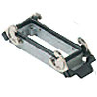 PANEL MOUNTING BASE - 24P+Ground  16A MAX - 600V  DOUBLE LEVERS (ILME CHI24)