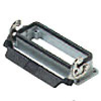 PANEL MOUNTING BASE - 24P+Ground  16A MAX - 600V  SINGLE LEVER (ILME CHI24L)