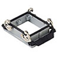 PANEL MOUNTING BASE - 32P+Ground  16A MAX - 600V  DOUBLE LEVERS (ILME CHI32)
