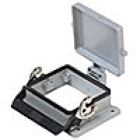 PANEL MOUNTING BASE - 32P+Ground  16A MAX - 600V  SINGLE LEVER AND COVER (ILME CHI32LS)