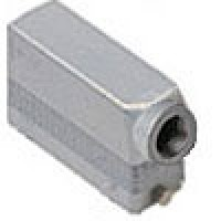 HOOD - 24P+Ground  16A MAX - 600V  TWO PEGS  SIDE ENTRY  HIGH CONSTRUCTION  CABLE GLAND PG 21 (ILME CAO24L21)