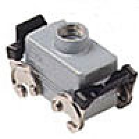 HOOD - 10P+Ground  16A MAX - 600V  DOUBLE LEVERS  TOP ENTRY  CABLE GLAND PG 16 (ILME CHV10X)