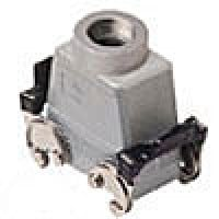 HOOD - 10P+Ground  16A MAX - 600V  DOUBLE LEVERS  TOP ENTRY  HIGH CONSTRUCTION  CABLE GLAND PG 29 (ILME CAV10X29)