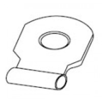 FLAG RING NON-INSULATED TERMINAL 12-10GA #10 STUD 100PK