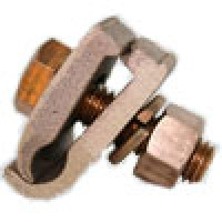 BRONZE GROUND CLAMP CONNECTOR 2/0Sol-250MCM