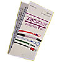 ECONOMY MARKER BOOK SOLID LETTER F