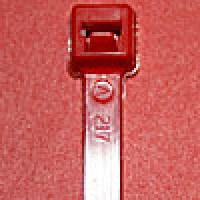L4182C are 4 inch 18lb red cable ties 100 pack. UL and CSA listed 4 inch 18lb red cable ties for bundling wire and cable.