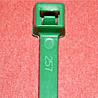 L7505C are 7.5 inch 50lb green cable ties 100 pack. UL and CSA listed 7.5 inch 50lb green cable ties for bundling wire and cable.