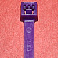 L4187C are 4 inch 18lb purple cable ties 100 pack. UL and CSA listed 4 inch 18lb purple cable ties for bundling wire and cable.