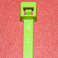 L418FL18M are 4 inch 18lb fluorescent green bulk cable ties 1000 pack. UL and CSA listed 4 inch 18lb fluorescent green bulk cable ties for bundling wire and cable.