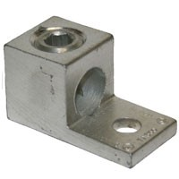 ALUMINUM MECHANICAL LUG 6-350 1CON 1HOLE