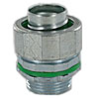 "LIQUA-SEAL CONNECTOR 1 1/4"" STRAIGHT INSULATED THROAT"