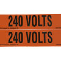 "VOLTAGE MARKER 4MARKER/CARD 1-1/8""x4-1/2"" 347V"