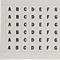 WIRE MARKER CARDS VINYL CLOTH LEGEND A-Z COMBO PACK