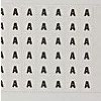 WIRE MARKER CARD VINYL CLOTH LEG #-P