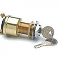 2-POSITION:OFF-ON(IGN), 2 BRASS SCREWS, W/KEY