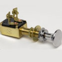 SPST, OFF-ON, NORMALLY OFF, HEAVY DUTY MARINE CONSTRUCTION PUSH-PULL SWITCH