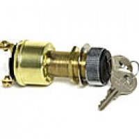 4-POSITION:ACC-OFF-IGN/ACC-IGN/START, 4 BRASS SCREWS, W/KEYS, RUBBER BOOT ASSEMBLY