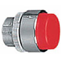 PROJECTING PUSH BUTTON SPRING RETURN RED