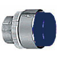PROJECTING PUSH BUTTON SPRING RETURN BLUE