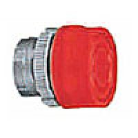 BOOTED PUSH BUTTON SPRING RETURN, ACTUATOR METAL RED