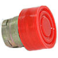 BOOTED HEAD, SPRING RETURN, ACTUATOR METAL RED