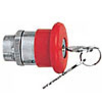 MUSHROOM HEAD KEY RELEASE, ACTUATOR RED
