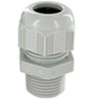 """RD07AA-GR are dome cap nylon cable glands Pg7 thread (.11-.26"""") gray"""