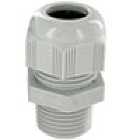 """RD11AA-GR are dome cap nylon cable glands PG11 thread (.19-.39"""") gray"""