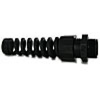 "FLEX CONNECTOR Pg11 (.19-.39"") BLACK"