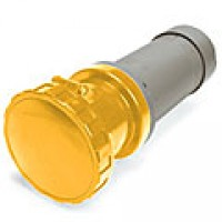 IP67/IEC309 PIN & SLEEVE CONNECTOR 60A  125VAC  2 POLE 3 WIRE  WATERTIGHT