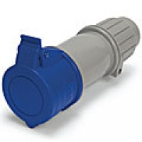 IP44/IEC309 PIN & SLEEVE CONNECTOR 20A  3 PHASE Y250VAC  3 POLE 4 WIRE  SPLASHPROOF