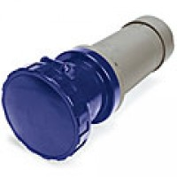 IP67/IEC309 PIN & SLEEVE CONNECTOR 125A  250VAC  2 POLE 3 WIRE  WATERTIGHT