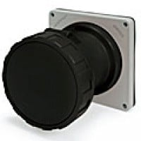 IP67/IEC309 PIN & SLEEVE RECEPTACLE 60A  3 PHASE 600VAC  3 POLE 4 WIRE  WATERTIGHT