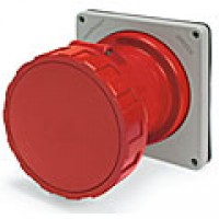 IP67/IEC309 PIN & SLEEVE RECEPTACLE 60A  480VAC  2 POLE 3 WIRE  WATERTIGHT