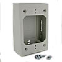 WHITE OUTLET BOX FOR SDPV