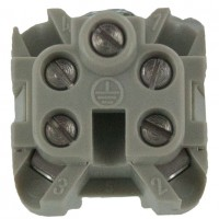 4 Pole Female Insert Industrial Connector 10 Amp CKF04