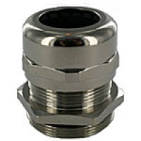 BR13NA Brass Dome Cap Cord Connector