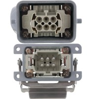Rectangular Connector Complete Kit 6 Pole 16 Amp